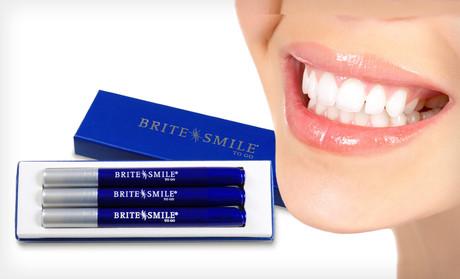 Отбеливание зубов по технологии Brite Smile