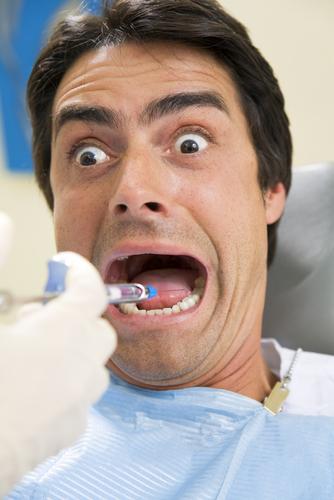 Состояние тревоги ребенка у стоматолога