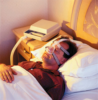 Апноэ сна на боку