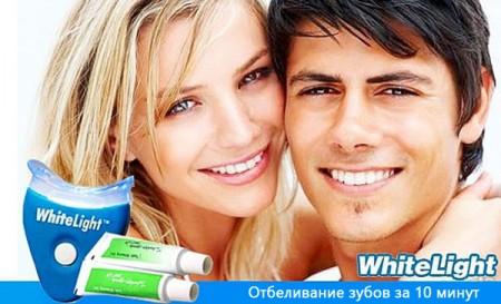 Отбеливатель зубов White Light: обзор
