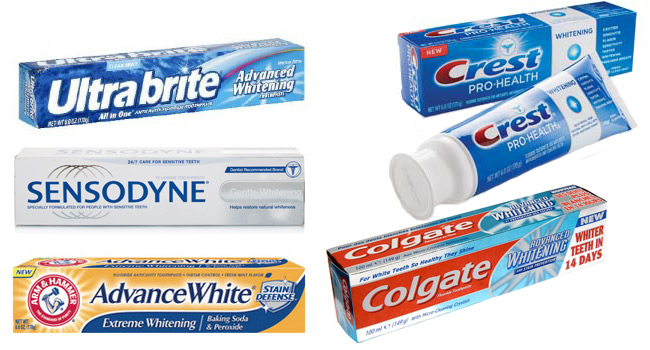 Все об отбеливающих зубных пастах